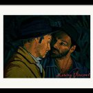 Loving Vicent Van Gogh - I Never Said I Was by Olga Krolak ( Framed Print )