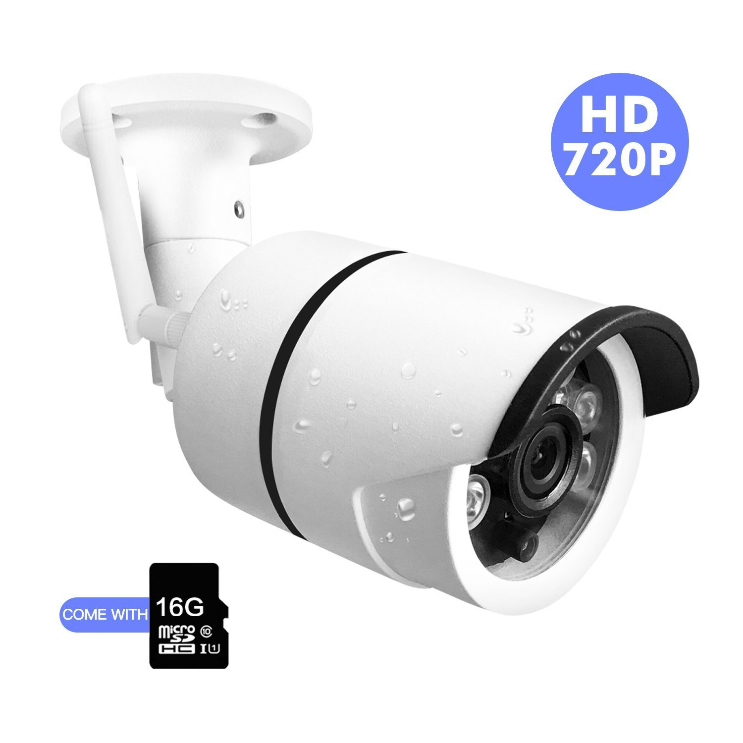 Outdoor IP Camera HD Wireless Wifi Camera CCTV With Waterproof Night Vision Motion Detection