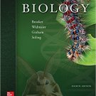 Biology (4th edition) by Robert J. Brooker -  isbn 9781259188121