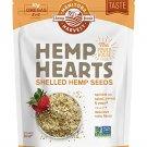 Hemp Hearts Raw Shelled Hemp Seeds, 1lb; 10g Protein & Omegas per Serving, Non-GMO, Gluten Free