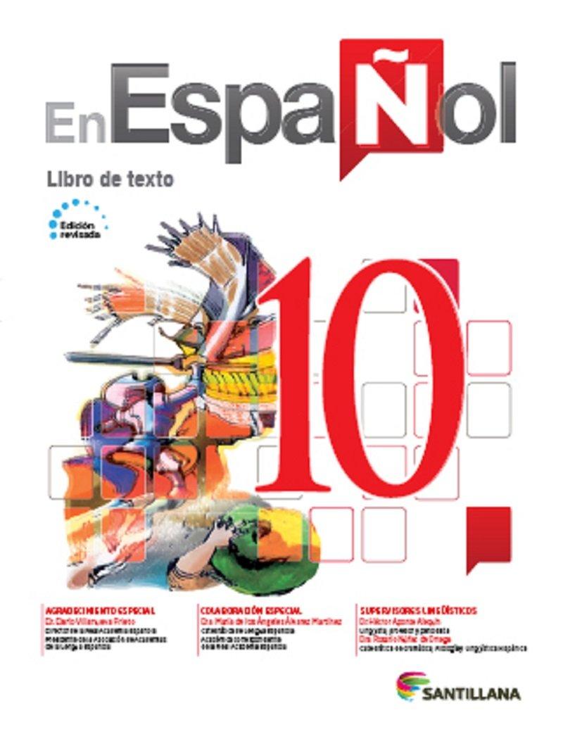 En Español 10 (Libro de Texto) Edicion Revisada 2016 - isbn 9781618755490