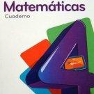 Para Crecer Matematicas 4 (Cuaderno) isbn 9781618752833 Ediciones Santillana