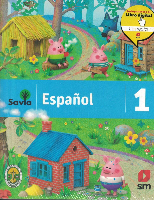 Savia Espanol 1 Texto ( incluye Cuaderno de Vocabulario ) isbn 9781630146474