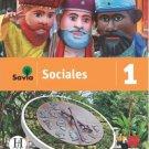 Savia Sociales 1  Cuaderno  isbn 9781630148126
