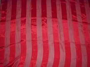 RL Collection large  RED Satin SHAWL scarf wrap FREE SHIP