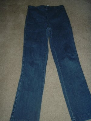 Woman's petite stretch jeans 26-32/28 boot cut FREE SHIP