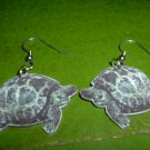 Acrylic turtle earrings  FREE SHIP