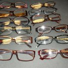 12 Pairs of Reading Glasses +1.75 Various Colors and Shapes * Great Condition