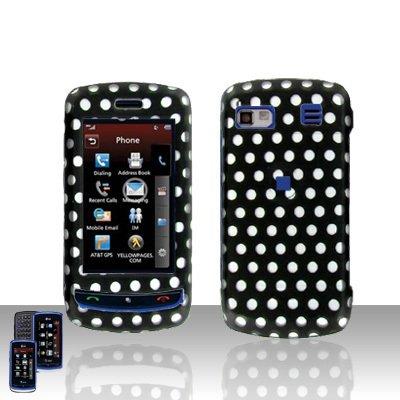 Polka Dot Cover Case Hard Case Snap on Cover for LG Xenon GR500