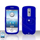 T-MOBILE HTC G2 MyTouch 3G Blue Cover Case Rubberized  Snap on Protector