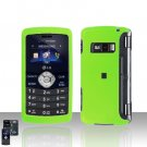 Neon Green Rubberized Cover Case Snap on Protector for LG env3 VX9200