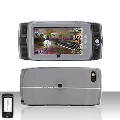 Sidekick LX 2009 LX2009 Clear Transparent Cover Case Snap on Protector