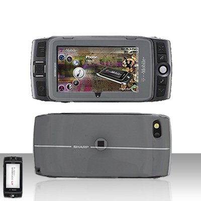 Sidekick LX 2009 LX2009 Smoke Transparent Cover Case Snap on Protector