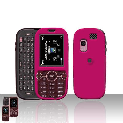Pink Cover Case Rubberized  Snap on Protector for Samsung Gravity 2 T469