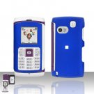 Samsung Comeback T559 Blue Cover Case Rubberized  Snap on Protector