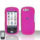 Pink Cover Case Rubberized  Snap on Protector for Samsung Highlight T749