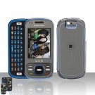 Samsung Exclaim M550 Clear Transparent Cover Case Snap on Protector