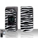 Zebra Cover Case Snap on Protector for Samsung Alias 2 U750