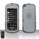 Smoke Transparent Cover Case Snap on Protector for Samsung Instinct 2 S30 M810