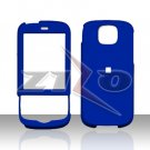 HTC Shadow II Blue Rubberized Cover Case Snap on Protector