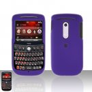 HTC Dash 3G S522 Purple Cover Case Rubberized  Snap on Protector