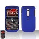 HTC Dash 3G S522 Blue Cover Case Rubberized  Snap on Protector