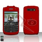 Blackberry Curve 8900 Javelin Red Cover Case Hard Case Snap on Protector