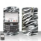 Blackberry Curve 8330 8300 Zebra Hard Case Snap on Cover