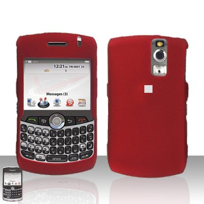 Blackberry Curve 8330 8300 Red Hard Case Snap on Cover