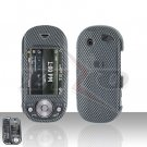 Pantech Matrix Pro C820 Carbon Fiber Hard Case Snap on Cover