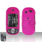 Pantech Matrix Pro C820 Pink Hard Case Snap on Cover