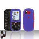 Purple Cover Case Snap on Protector for Samsung Intensity U450