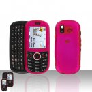 Pink Cover Case Snap on Protector for Samsung Intensity U450