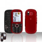 Red Cover Case Snap on Protector for Samsung Intensity U450