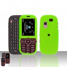 Green Cover Case Rubberized  Snap on Protector for Samsung Gravity 2 T469