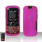 Pink Cover Case Hard Snap on Protector for Motorola Clutch i465
