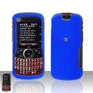 Blue Cover Case Hard Snap on Protector for Motorola Clutch i465