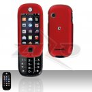 Red Hard Case Snap on Cover for Motorola Evoke QA4 Alltel