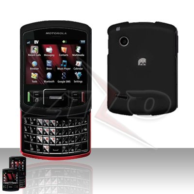Motorola Hint QA30 Black Hard Case Snap on Cover