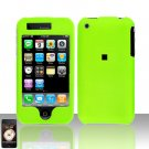 Neon Green Cover Case Snap on for Apple iPhone 3G iPhone 3GS