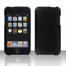 Carbon Fiber Hard Snap on Case Cover for Apple iPod Touch 2 Touch 3