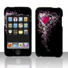 Classic Heart Design Hard Snap on Case Cover for Apple iPod Touch 2 Touch 3