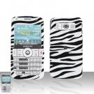 Samsung Code i220 Zebra Cover Case Snap on Protector + Car Charger