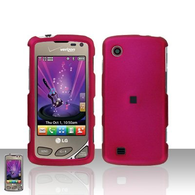 Pink Case Cover Snap on Protector for LG Chocolate Touch VX8575