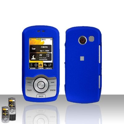 Blue Case Cover Snap on Protector for LG Lyric MT375