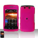 Blackberry Storm II 9550 Pink Cover Case Snap on Protector + Car Charger