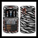 Zebra Cover Case Rubberized  Snap on Protector for Samsung Magnet A257