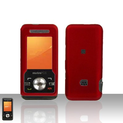 Red Case Cover Snap on Protector for ZTE C70