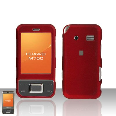 Huawei M750 Red Case Cover Snap on Protector