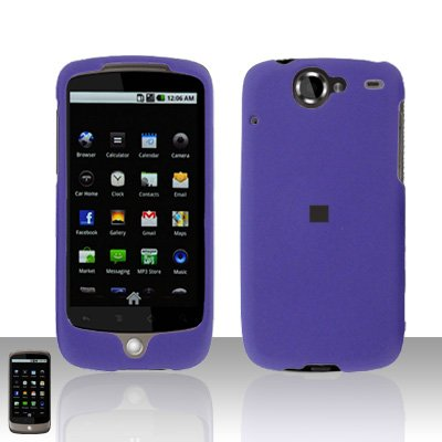 HTC Google Nexus One Purple Case Cover Snap on Protector